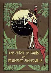 Couverture de The Spirit of Paris, Londres, 1913. 8-Z Le Senne-10964